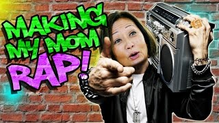 Making my Mom Rap like Eminem! nigahiga  nigahiga