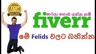What is the best field to work in Fiverr -  Sinhala