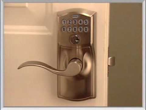 Installing Your FE595 Keypad Entry Lock