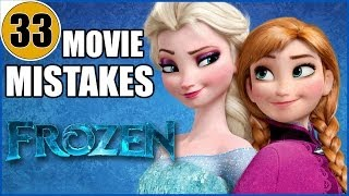 getlinkyoutube.com-33 Mistakes of Disney's FROZEN You Didn't Notice