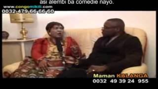 getlinkyoutube.com-Lokuta ya Maman Kalanga ekomi lokola ya koloka, na monoko kombo ya Yesu, na motema mbindo