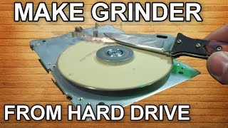 HDD HACK - Make Grinder From Old Hard Drive