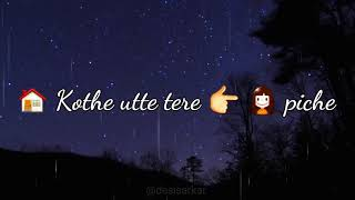 Taare by aatish layric song with viva video width=