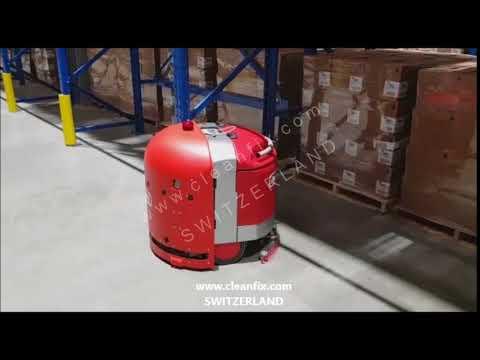 RA 660 Navi Robot İnsansız Yer Yıkama Aracı