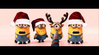 getlinkyoutube.com-Jingle Bell Rock - Minions Cover - Crazy Mix