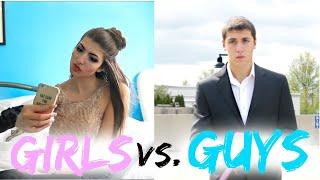 getlinkyoutube.com-Prom Guys Vs. Girls!