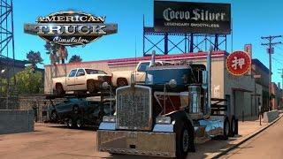getlinkyoutube.com-American Truck Simulator   Tractocamion Ligero y Potente   Para Correr