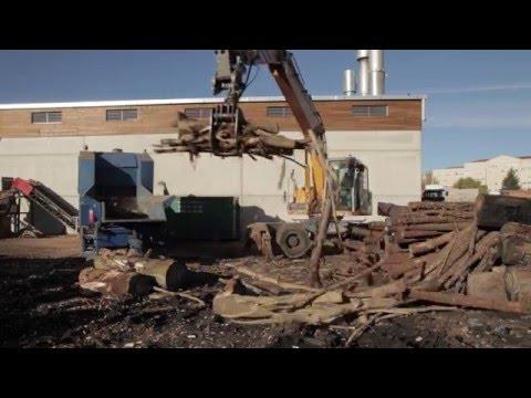 REBI SLU: Rebi acumula biomasa para la campaña de frío de la Red de Calor