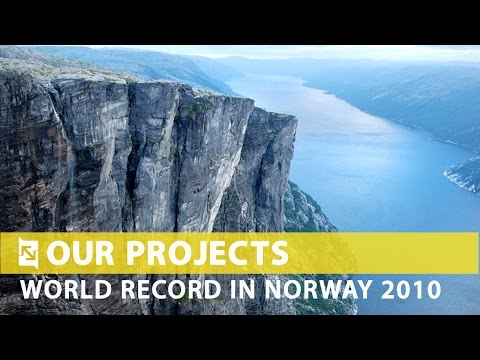 Rope Jumping WORLD RECORD Project  Norway 2010