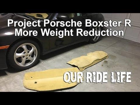 Project Porsche Boxster R