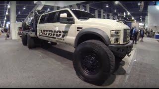 getlinkyoutube.com-Nothing but Ford trucks at the SEMA show Las Vegas
