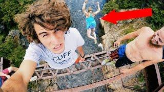 Crazy Bridge Jumping | 4K