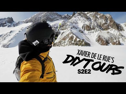 Xavier De Le Rues DIY Tour: Shredding Forbidden Big Mountain Lines in China   Ep 5