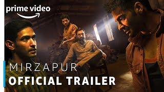 Mirzapur - Official Trailer (UNCUT) 2018 | Rated 18+ | Amazon Prime Original