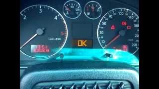 getlinkyoutube.com-Kasowanie komunikatu o inspekcji serwisowej w Audi a4 b5  z 2000 roku!!!