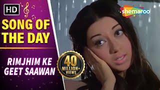 Rimjhim Ke Geet Saawan Gaaye (HD) - Anjaana Song - Rajendra Kumar - Babita width=
