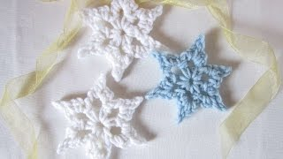 getlinkyoutube.com-How To Crochet A Simple Snowflake - DIY Crafts Tutorial - Guidecentral