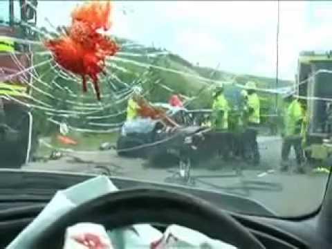 SMS-uri le la volan duc la  accidente tragice
