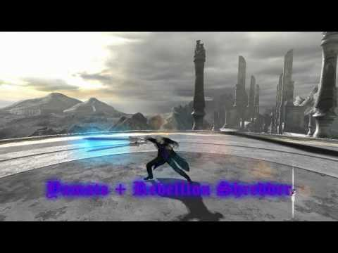 Devil May Cry 4 - Vergil Fighting Techniques