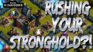 getlinkyoutube.com-★ Rival Kingdoms: Should You Rush Your Stronghold?