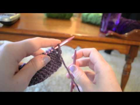 Knitting for beginners: How to Purl