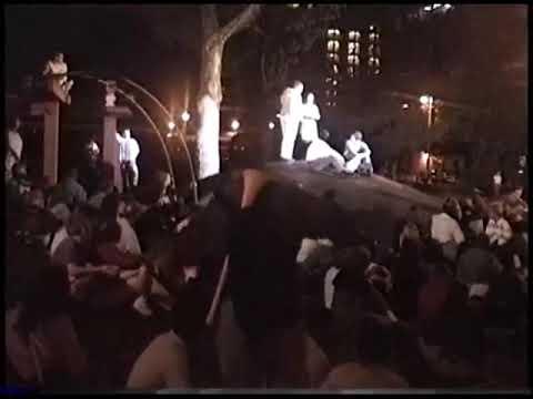 Copernicus performance King Lear Washington Sq Park, NYC. 9/12/1996