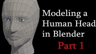 getlinkyoutube.com-How to Model a Low Poly Human Head in Blender: Part 1