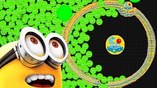 getlinkyoutube.com-Agario Epic Winning Funny Minion Trolling Agar.io Experimental Mode  Funny Moments!