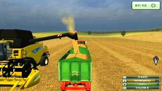 getlinkyoutube.com-Farming simulator 2013  (LS 2013) - żniwa