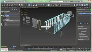 Creating Procedural Buildings in 3ds Max 2017 using MCG
