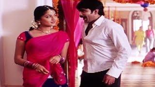 getlinkyoutube.com-Romantic Scenes of Ravi Teja and Anushka Shetty - Pratighat