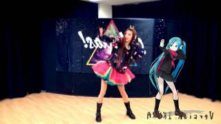getlinkyoutube.com-Mirror【いとくとら+MMD 初音ミク】galaxias!踊ってみたコラボ