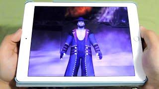 getlinkyoutube.com-IPAD AIR 2 WWE 2K GAMEPLAY