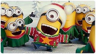 getlinkyoutube.com-Minions Weihnachten Trailer Clip German Deutsch