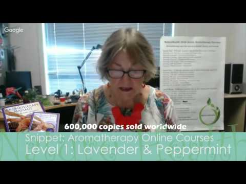 Snippet: Aromatherapy Online Course Level 1