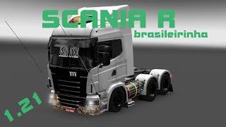 getlinkyoutube.com-ETS2 - MODS - SCANIA R BRASILEIRINHA (1.21.x)