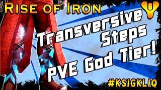 getlinkyoutube.com-Destiny Rise of Iron Transversive Steps Review God Tier Exotic Boots