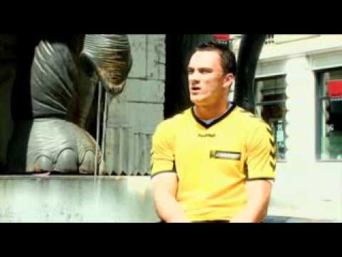 Edin Basic et Nebojsa Grahovac à la Fontaine des Eléphants...
