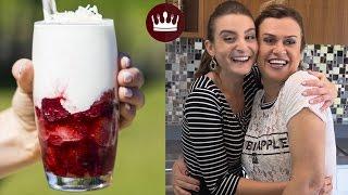getlinkyoutube.com-FROZEN DE NATAL (Part. Marisa Santina) | Cozinha do Bom Gosto | Gabi Rossi