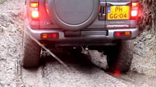 getlinkyoutube.com-Opel Monterey - Isuzu Trooper - Offroad - Flex