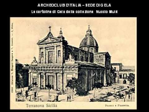 Cartoline antiche di Gela