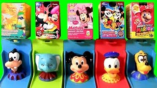 getlinkyoutube.com-Surprise Boxes Mickey Mouse Clubhouse Pop-Up Surprise Disney Baby Toy with Dumbo Goofy Minnie Donald