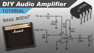 getlinkyoutube.com-Make a Great Sounding LM386 Audio Amplifier with Bass Boost