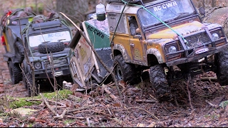 getlinkyoutube.com-Trailer trailing with the RC4WD Gelande 2s Scale Town RC CWR