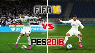 getlinkyoutube.com-FIFA 16 vs. PES 16: Skill Moves