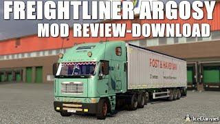 ETS2 Freightliner Argosy | Mod Review & Customization