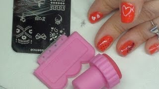 """getlinkyoutube.com-Dicas de como usar carimbo de unhas + meus """"segredinhos"""" para facilitar a usá-lo  :)"""