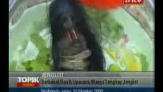 getlinkyoutube.com-Warga Tangkap Jenglot Hidup Hidup