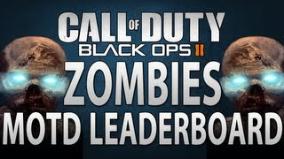 Black Ops 2 Zombies: Mob of the Dead Leaderboards - Possible Loading Screen and Achievements