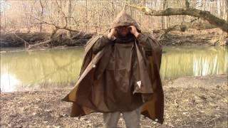 getlinkyoutube.com-REVIEW ON THE The Pathfinder Tarp / Poncho